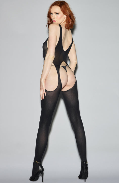 Suspender Bodystocking by Dreamgirl