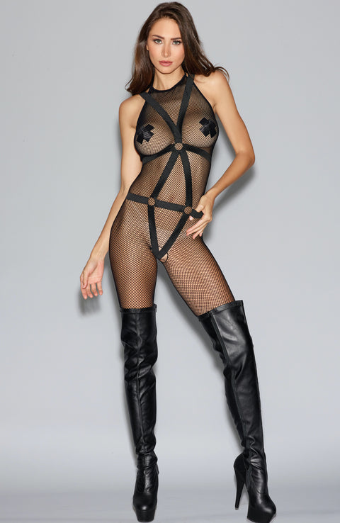 Crotchless Bodystocking by Dreamgirl