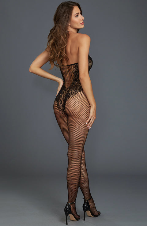 Crotchless Fishnet Bodystocking by Dreamgirl