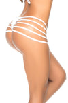 Wet Look Strappy Knickers by Mapale