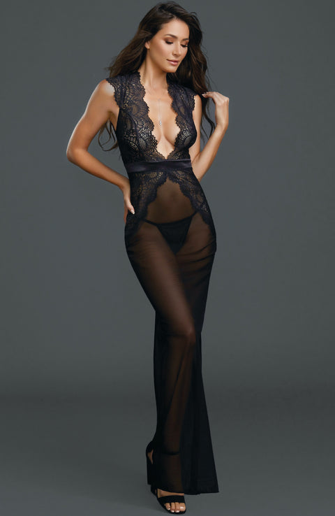 Sheer Nightgown by Dreamgirl