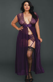 Lace Gown Lingerie Set by Dreamgirl