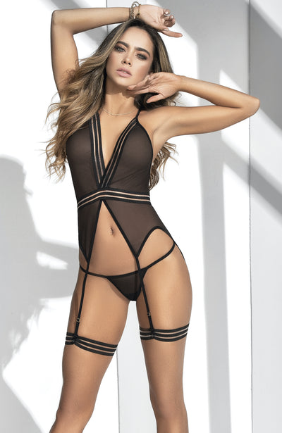 Sheer Four Piece Set by Mapale