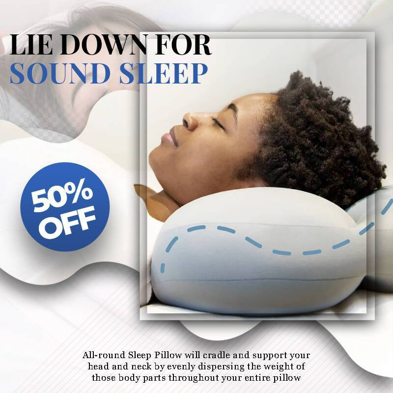 All-round Pillow - Buy 1 Get 1  25% Off