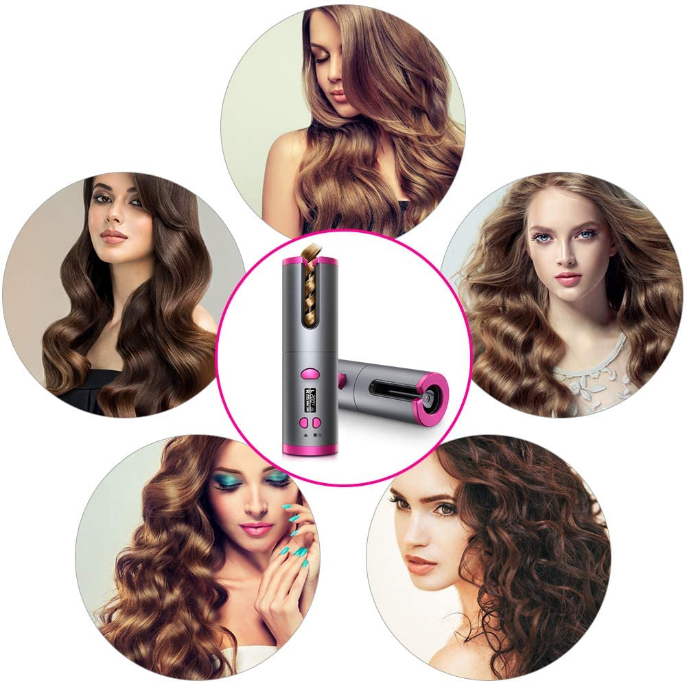 Cordless Automatic Hair Curler, Sultry Hair Curler