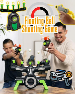 Floating Ball Shooting Game Air Shot Hovering Foam Ball  for Holiday Season - kidsstoreefw