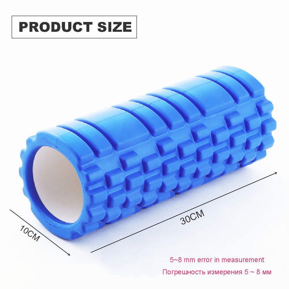 Foam Roller, Yoga Block Fitness Equipment Pilates Fitness Gym Exercises Muscle Massage Roller Yoga Brick