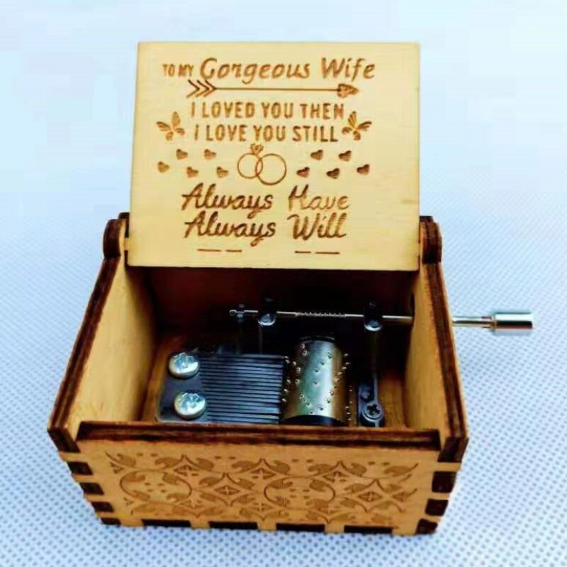 To Mom From Son - For All The Times I Forgot To Thank You I Love You - Engraved Music Box