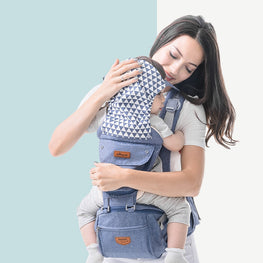 Ergonomic Baby Carrier Baby Kangaroo Child Hip Seat Tool Baby Holder Sling Wrap Backpacks