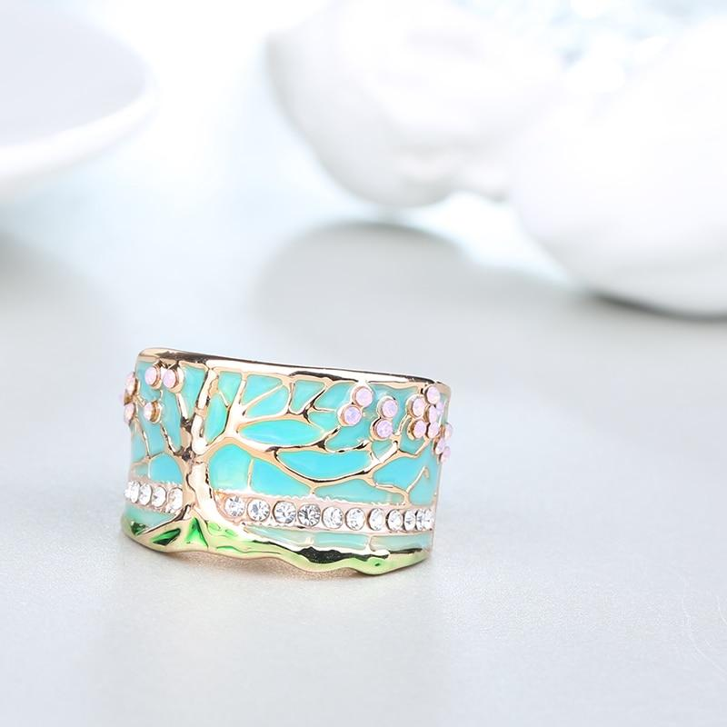 Lucky Tree Opal Green Ring - kidsstoreefw
