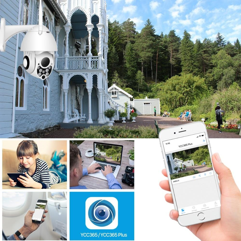 1080P Outdoor Wireless Wifi Security Camera w/ Pan Tilt