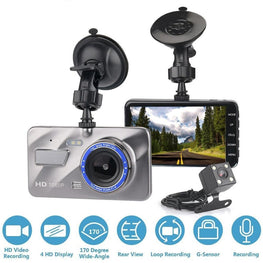 HD 1080P Car DVR Vehicle Video Dash Cam Recorder With G-Sensor