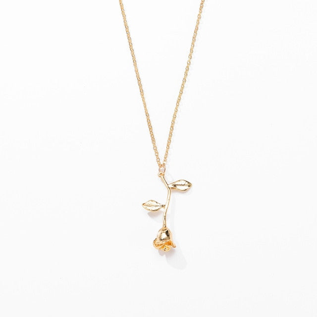 Red Rose Necklace - kidsstoreefw