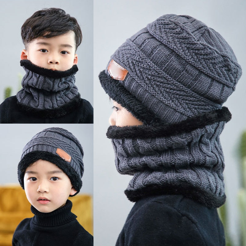 Kids Beanies and Scarf Hat - kidsstoreefw
