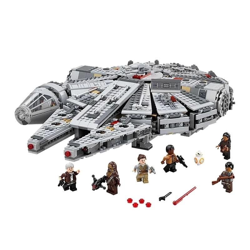 Star Wars Millennium Falcon Spacecraft Building Blocks - kidsstoreefw