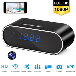 Spy Wireless HD Mini WiFi Hidden Camera Alarm Clock