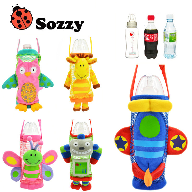1pcs Sozzy Children/baby Cartoon Bottle Huggers - kidsstoreefw