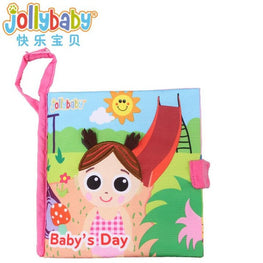 Jollybaby Cloth Books in Various Styles - kidsstoreefw