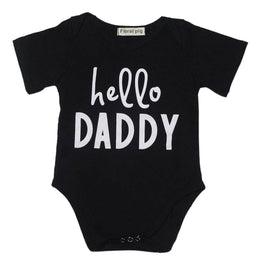 "Baby Girl/Boy Onesie- ""Hello Daddy"" - KidsJoyful"