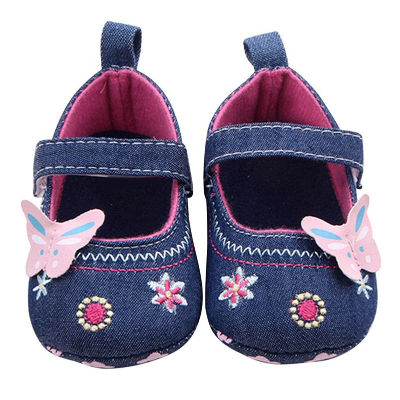 Baby Girls First Walkers-Butterfly - KidsJoyful