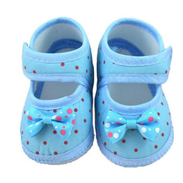 Cute Polka Dot Booties for Newborn Girl - kidsstoreefw