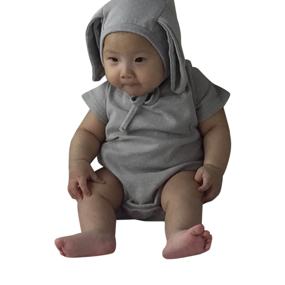 Baby Boys or Girls Cute Rabbit Ear Romper - kidsstoreefw