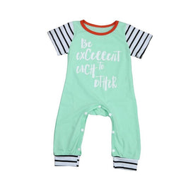 2017 Baby Girls or Boys Summer Romper - KidsJoyful