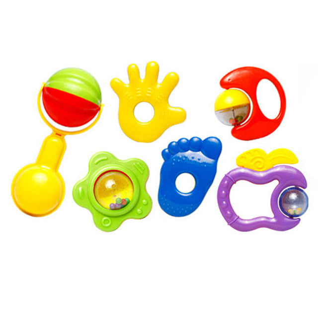6pcs Jingle Rattles - KidsJoyful