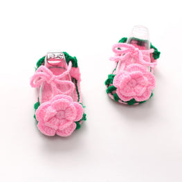 Baby Girls Handmade Sandals - kidsstoreefw