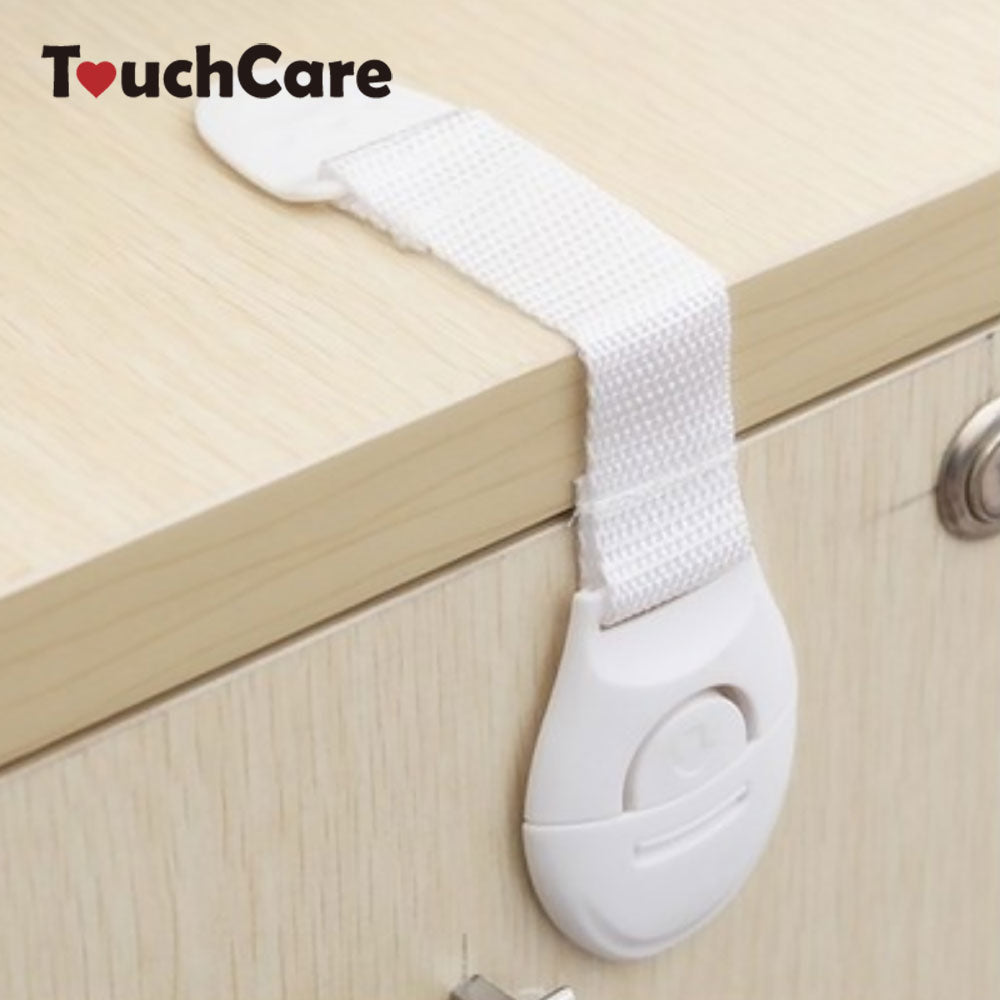 Lengthened Bendy Safety Plastic Locks for Cabinets, Doors, Drawers, Refrigerator, Toilet - kidsstoreefw
