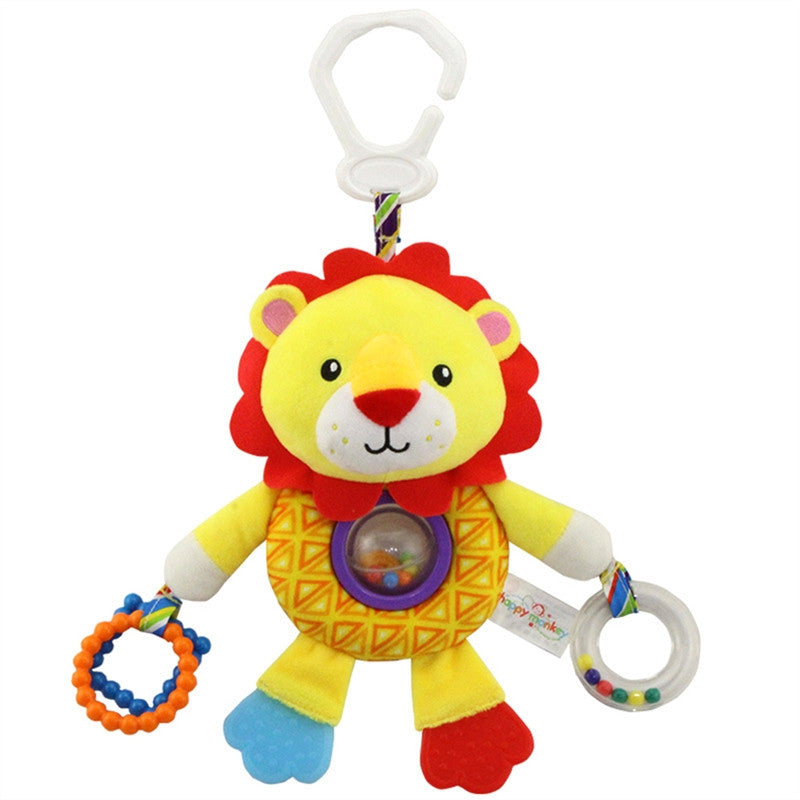 Cute Plush Lion Baby Toy - KidsJoyful