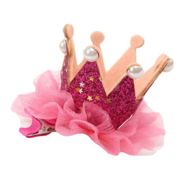 Baby Girl Flower Crown Hair Clip - KidsJoyful