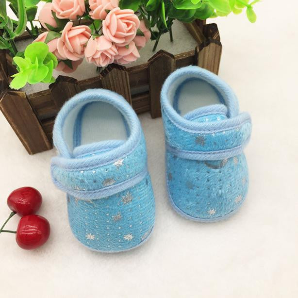 Starry Sky Printed Toddler Anti-Slip Soft Baby Shoes - KidsJoyful