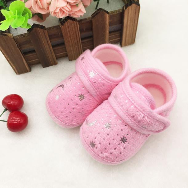 Starry Sky Printed Toddler Anti-Slip Soft Baby Shoes - kidsstoreefw