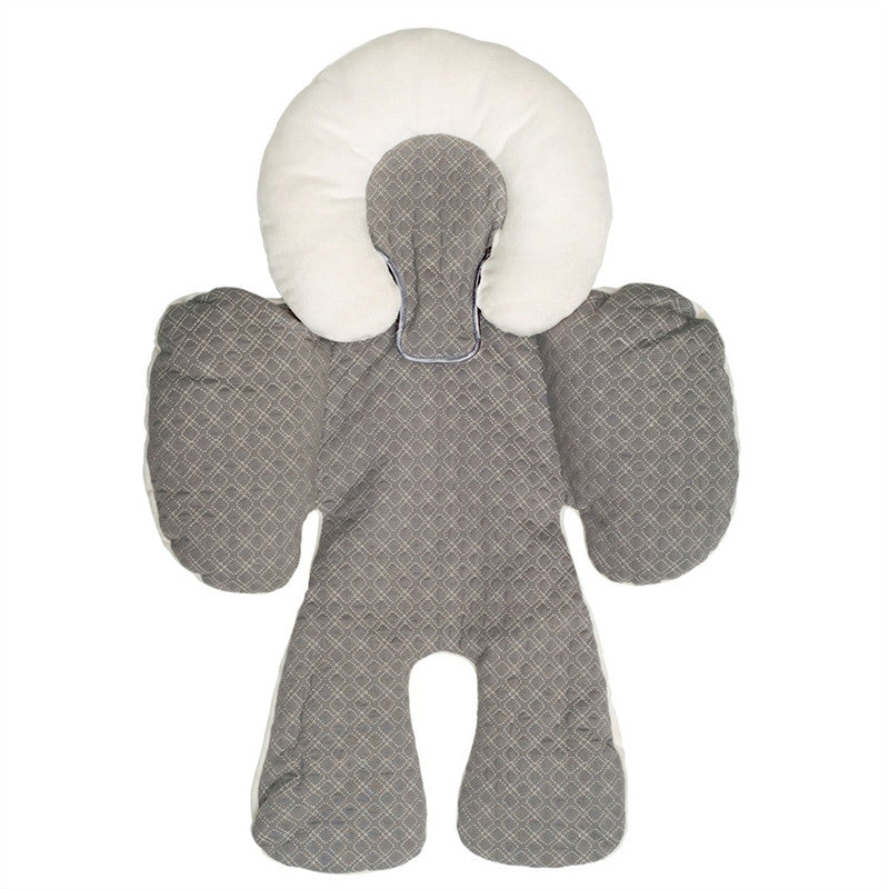 Newborn Baby Car Seat Stroller Head Body Support Pillow
