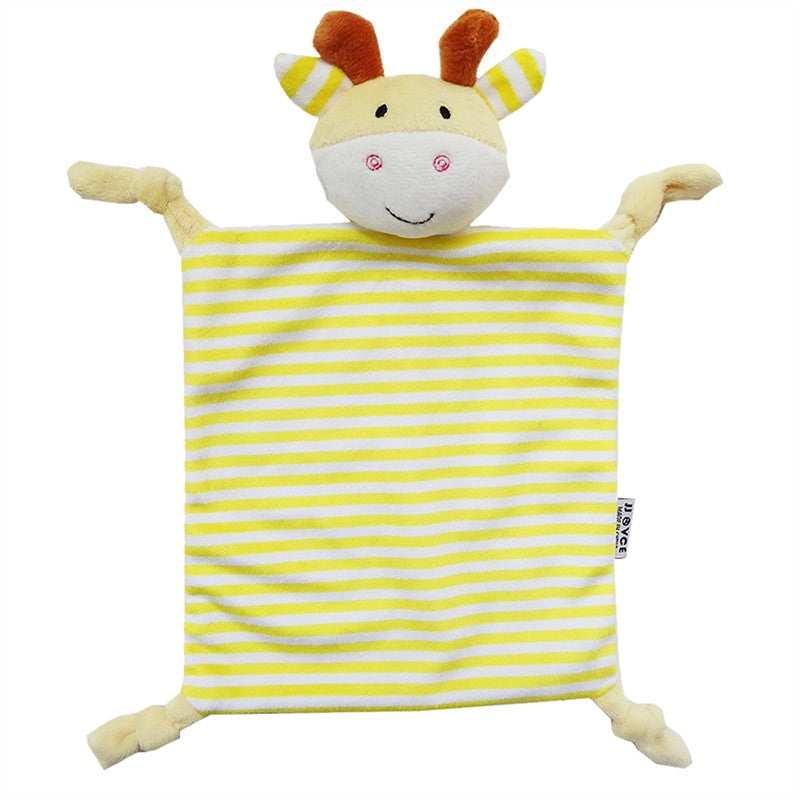Infant Teething Cloth Animal Toys - KidsJoyful