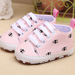 Baby Boy/Girl Pastel Soft Sneakers - kidsstoreefw