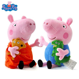 Peppa pig George pepa Pig Family Plush Stuffed Doll - kidsstoreefw