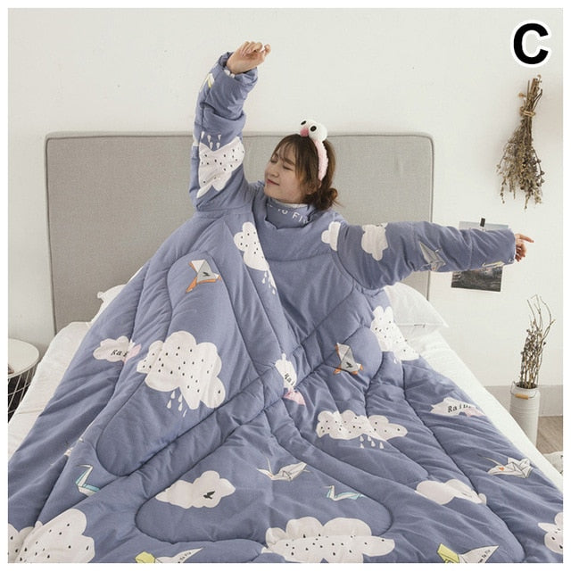 Lazy Quilt With Sleeves - kidsstoreefw