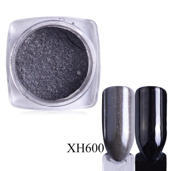 Metallic Nail Powder - kidsstoreefw