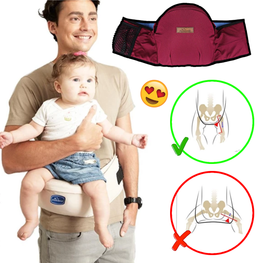 Ergonomic Hip Support Baby Carrier - kidsstoreefw