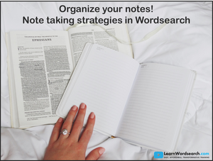 Organize Your Notes! (PRE-ORDER)