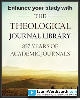 Enhance your study with Theological Journal Library Collection (PRE-ORDER)