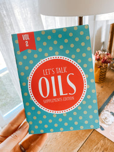 Let's Talk Oils: Supplements Edition