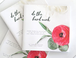 Do The Hard Work Book (IPA)