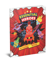 Essential Heroes Activity Book!