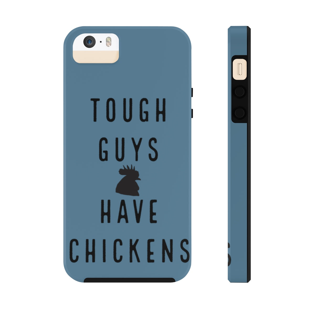 Man Rooster Case Mate Tough Phone Cases