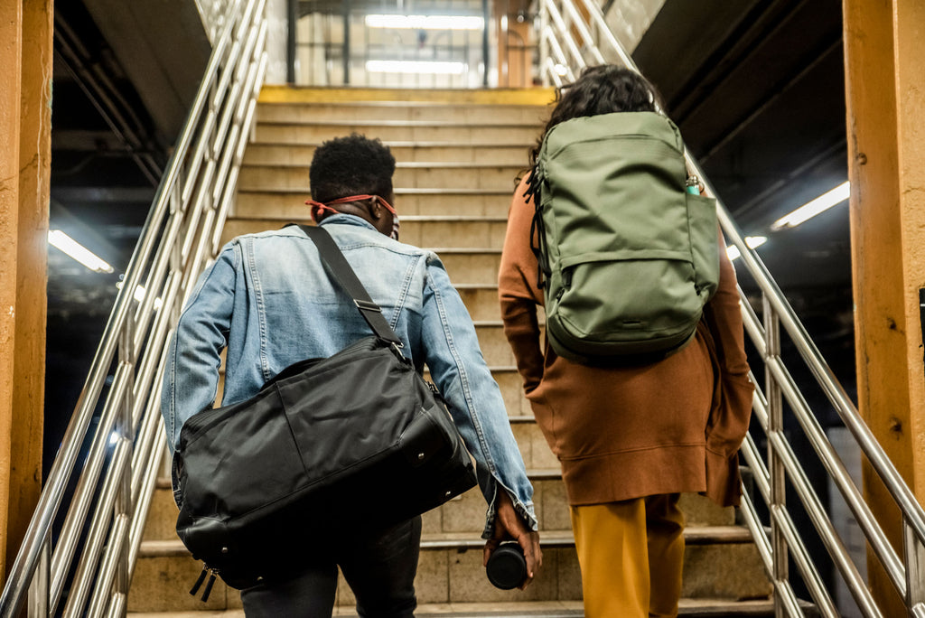 The Pakt One Duffel and the Pakt Travel Backpack