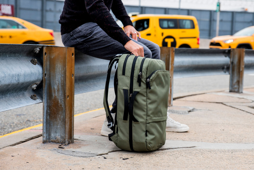 The Pakt Backpack in Green