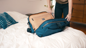 The Pakt One travel bag offers smart features to enhance your travel experience.